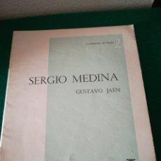 Libros de segunda mano: CUADERNO DE PROSA SERGIO MEDINA. Lote 170207521