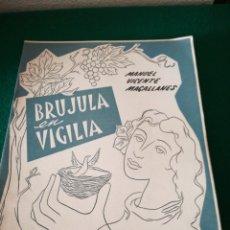 Libros de segunda mano: CUADERNO DE POESÍA DE MANUEL VICENTE MAGALLANES. Lote 170209592