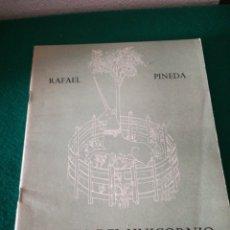 Libros de segunda mano: CUADERNO DE POESÍA DE RAFAEL PINEDA. Lote 170211733