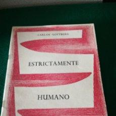 Libros de segunda mano: CUADERNO DE POESÍA DE CARLOS GOTTBERG. Lote 170211921