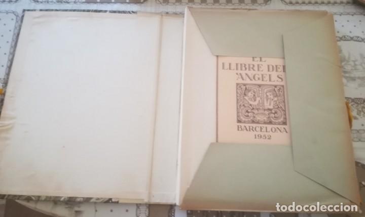 Libros de segunda mano: El llibre dels àngels - Joan Llongueres - 1952 - Foto 2 - 170293460