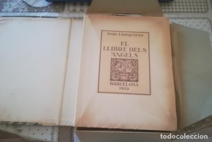 Libros de segunda mano: El llibre dels àngels - Joan Llongueres - 1952 - Foto 3 - 170293460