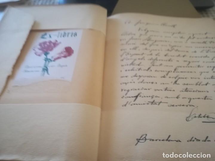 Libros de segunda mano: El llibre dels àngels - Joan Llongueres - 1952 - Foto 4 - 170293460