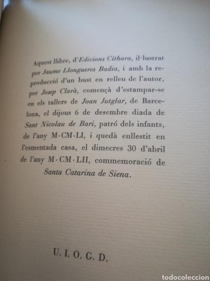 Libros de segunda mano: El llibre dels àngels - Joan Llongueres - 1952 - Foto 19 - 170293460
