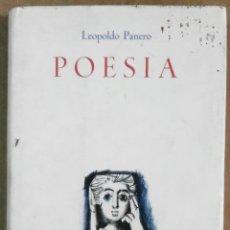 Libros de segunda mano: LEOPOLDO PANERO, POESÍA (1932-1960) MADRID, 1963, 1ª EDICIÓN. Lote 170870025