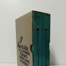 Libros de segunda mano: ANTOLOGÍA DE LA POESÍA HISPANO-AMERICANA MODERNA (I-II). Lote 171235057
