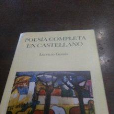 Libros de segunda mano: POESIA CASTELLANA COMPLETA. Lote 171316468