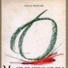 Libros de segunda mano: MACHUPICCHU EN LA POESIA - MONTES, HUGO - A-POE-1834. Lote 171359277