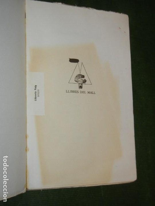 Libros de segunda mano: SAL OBERTA, DE MARIA MERCE MARÇAL, LLIBRES DEL MALL 1985 - 2ª edició - Foto 3 - 171827832