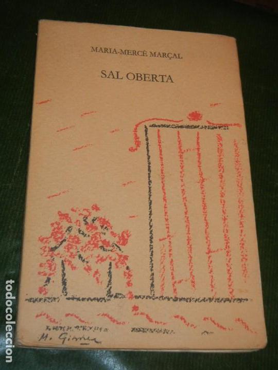 SAL OBERTA, DE MARIA MERCE MARÇAL, LLIBRES DEL MALL 1985 - 2ª EDICIÓ (Libros de Segunda Mano (posteriores a 1936) - Literatura - Poesía)