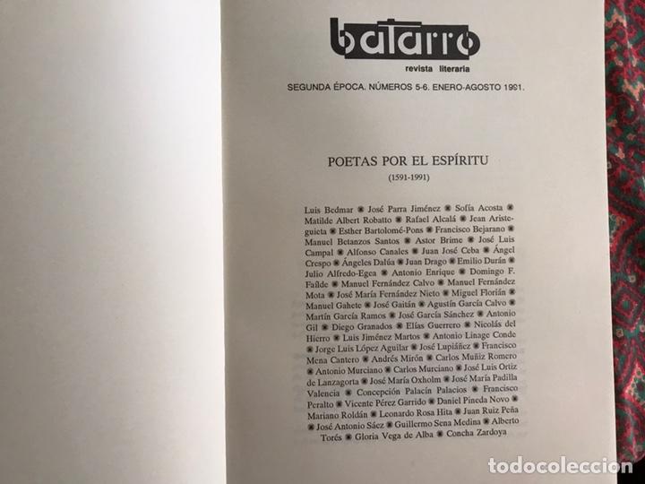 Libros de segunda mano: Poetas por el espíritu. 1.591-1.991. Balarro. - Foto 2 - 171968479