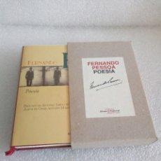 Libros de segunda mano: FERNANDO PESSOA : POESÍA. EDICIÓN DE JOSÉ A. LLARDENT. (ALIANZA ED. BIBLIOTECA 30 ANIVERSARIO, 1997. Lote 172138445
