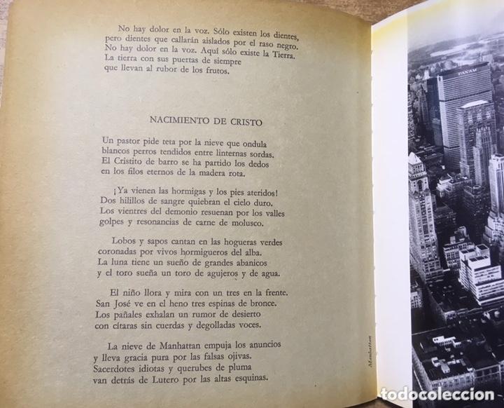 Libros de segunda mano: POETA EN NUEVA YORK - LORCA - FOTOGRAFIAS MASPONS UBIÑA - LUMEN PALABRA E IMAGEN - 1966 - Primera ed - Foto 6 - 172152289
