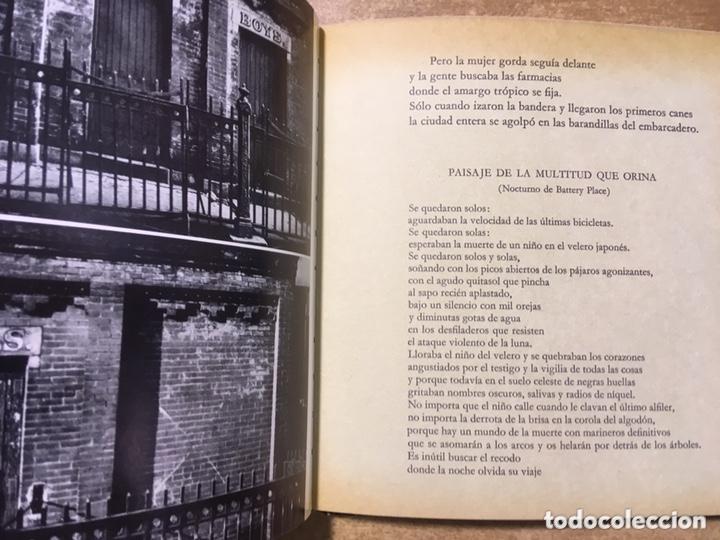 Libros de segunda mano: POETA EN NUEVA YORK - LORCA - FOTOGRAFIAS MASPONS UBIÑA - LUMEN PALABRA E IMAGEN - 1966 - Primera ed - Foto 10 - 172152289