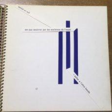 Libros de segunda mano: POESÍA VISUAL - TRIDALT - 1973 - PEP MERCADER - CAPDEVILA - CASAS. Lote 172152600