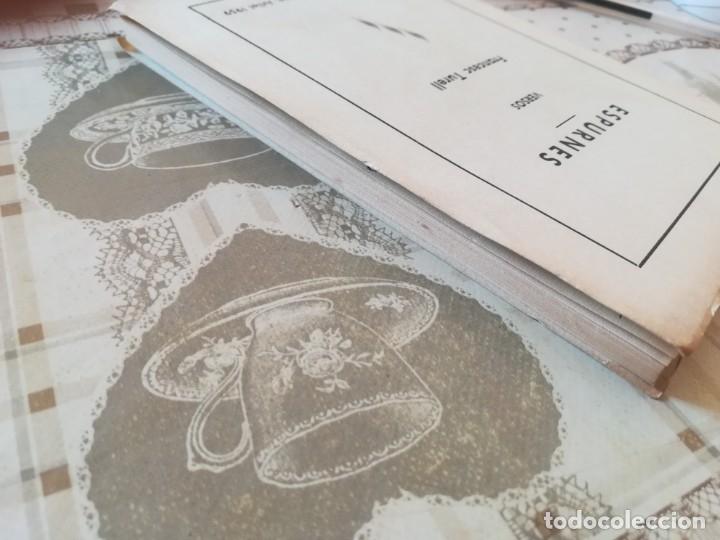 Libros de segunda mano: Espurnes - Francesc Turell - 1959 - Ejemplar dedicado y firmado por el autor al anterior propietario - Foto 5 - 172165559