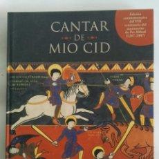 Libros de segunda mano: CANTAR DE MIO CID EDICIÓN CONMEMORATIVA. Lote 172251708