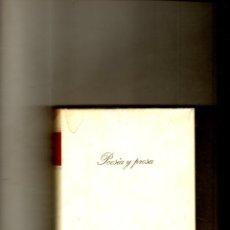 Libros de segunda mano: POESIA Y PROSA. FRANCISCO DE QUEVEDO Y VILLEGAS. CIRCULO DE LECTORES. 1976.. Lote 172614289