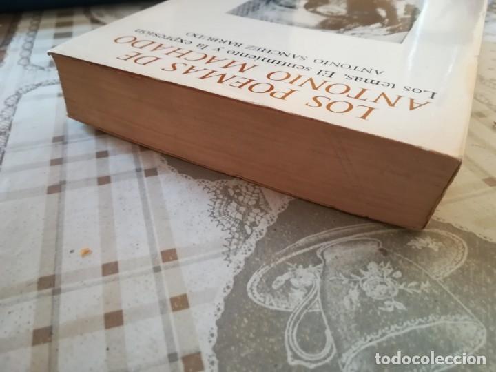 Libros de segunda mano: Los poemas de Antonio Machado. Los temas, el sentimiento y la expresión - Antonio S. Barbudo - Foto 6 - 172790198