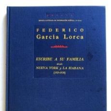 Libros de segunda mano: REVISTA POESIA Nº 23-24. GARCÍA LORCA ESCRIBE A SU FAMILIA DESDE N. YORK Y LA HABANA. Lote 172911658