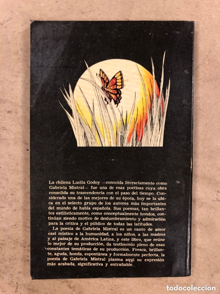 Libros de segunda mano: POESÍAS DE GABRIELA MISTRAL. EDITORES MEXICANOS UNIDOS 1982. 177 PÁGINAS. - Foto 6 - 173014238