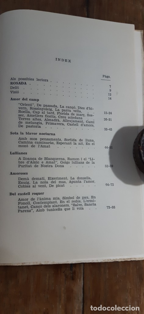 Libros de segunda mano: Poesies.Bartomeu Guasp Gelabert, Prev. Ciutat de Mallorca 1972 - Foto 4 - 173025418