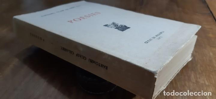 Libros de segunda mano: Poesies.Bartomeu Guasp Gelabert, Prev. Ciutat de Mallorca 1972 - Foto 7 - 173025418