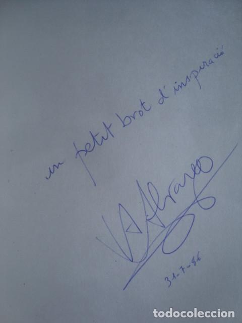 Libros de segunda mano: ALBERT ÁLVAREZ I AURA - L'AGRE-DOLÇ PERFIL DEL SOLSTICI (1984). SIGNAT I DEDICAT PER L'AUTOR. CATALÀ - Foto 2 - 173112480
