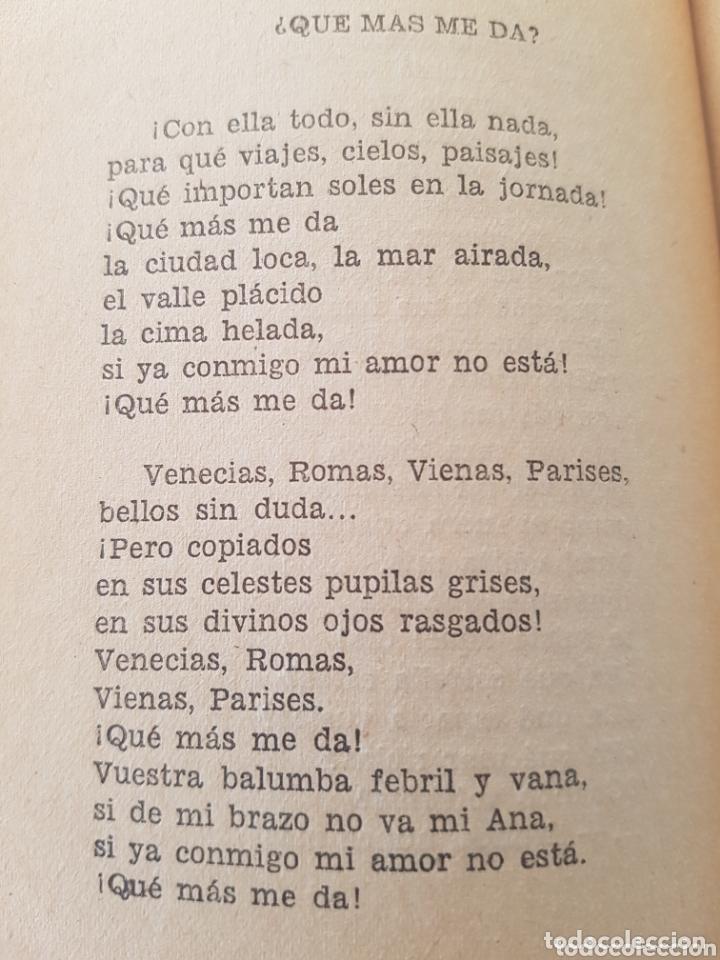 Libros de segunda mano: Singular libro Amado Nervo Sus mejores Poesías primera edición 1954. Editorial Bruguera - Foto 5 - 173260167