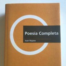 Libros de segunda mano: POESÍA COMPLETA, JUAN REJANO. NUEVO. Lote 173443983