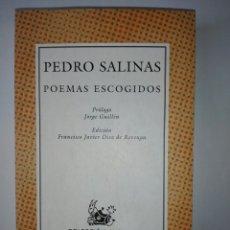 Libros de segunda mano: POEMAS ESCOGIDOS.. Lote 173640160