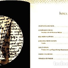 Libros de segunda mano: PALIMPSESTO. REVISTA DE CREACIÓN N° 26 (2011). [ANTONIO GAMONEDA, RAFAEL COURTOISIE Y OTROS]. Lote 173765484