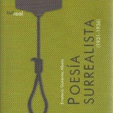 Libros de segunda mano: EMETERIO GUTIÉRREZ ALBELO-POESÍA SURREALISTA.EDICIONES IDEA/LA PÁGINA.2007.. Lote 173906792