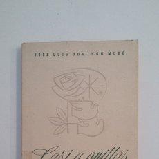 Libros de segunda mano: CASI A ORILLAS DEL AMOR. JOSE LUIS DOMINGO MURO. LA RIOJA. TDK400. Lote 174061833