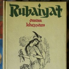 Libros de segunda mano: OMAR KHEYYAM . RUBAIYAT. Lote 174578437