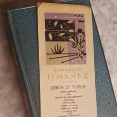 Libros de segunda mano: 1957 JUAN RAMON JIMÉNEZ BIBLIOTECA PREMIOS NOBEL LIBROS DE POESIA AGUILAR. Lote 175026060