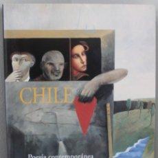 Libros de segunda mano: LIBRO: LITORAL, CHILE, POESIA CONTEMPORANEA, CON UNA MIRADA AL ARTE ACTUAL. Lote 175977452