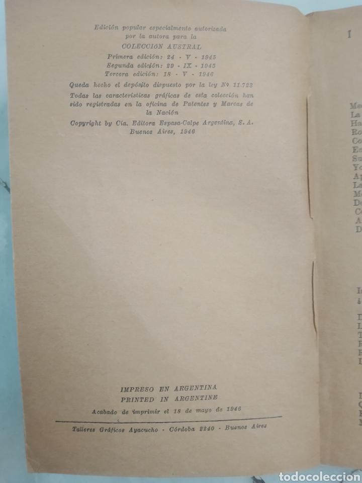 Libros de segunda mano: TERNURA. GABRIELA MISTRAL. BUENOS AIRES 1946. TERCERA EDICIÓN. - Foto 2 - 176075240