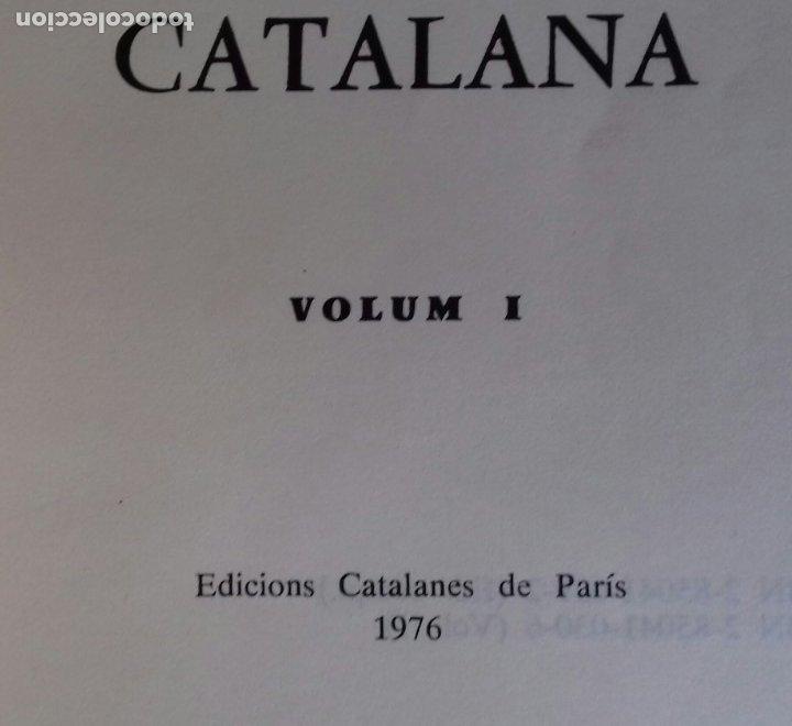 Libros de segunda mano: ANTOLOGIA DE LA POESIA PATRIOTICA CATALANA. EMILI SEGUÉS. 2 VOLS. EDICIONS CATALANS DE PARIS 1976. - Foto 5 - 176222548