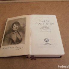 Libros de segunda mano: LIBRO OBRAS COMPLETAS DE ROSALIA DE CASTRO - AGUILAR 1958 4ª EDICION. Lote 176285639