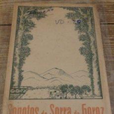 Libros de segunda mano: PORTUGAL.'SONETOS DA SERRA DO GEREZ' POR JOAO MARIA FERREIRA. 1ª EDICION. DEDICADO. Lote 176366965