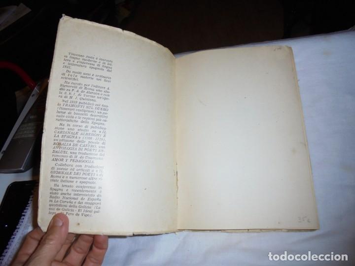 Libros de segunda mano: ECHI DI FINISTERRE - VICENZO JOSIA - ANTOLOGIA DI POETI GALLEGOS.EDITORE GUGNALI - MODICA 1963 - Foto 3 - 177518619