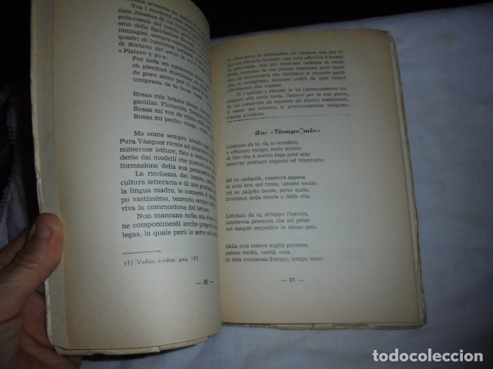 Libros de segunda mano: ECHI DI FINISTERRE - VICENZO JOSIA - ANTOLOGIA DI POETI GALLEGOS.EDITORE GUGNALI - MODICA 1963 - Foto 5 - 177518619