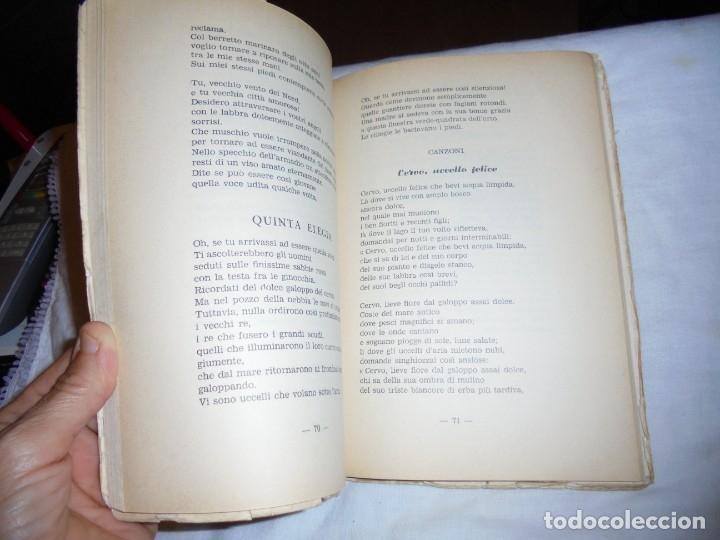 Libros de segunda mano: ECHI DI FINISTERRE - VICENZO JOSIA - ANTOLOGIA DI POETI GALLEGOS.EDITORE GUGNALI - MODICA 1963 - Foto 6 - 177518619