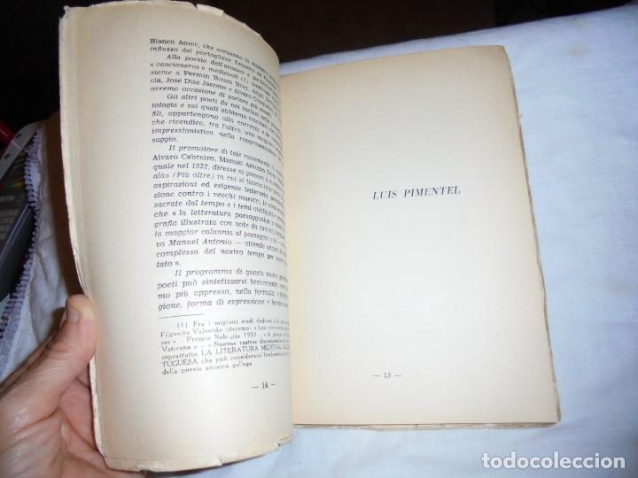 Libros de segunda mano: ECHI DI FINISTERRE - VICENZO JOSIA - ANTOLOGIA DI POETI GALLEGOS.EDITORE GUGNALI - MODICA 1963 - Foto 9 - 177518619