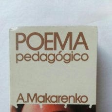 Libros de segunda mano: POEMA PEDAGÓGICO. Lote 177573909