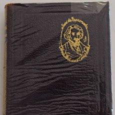 Libros de segunda mano: JOSE DE ESPRONCEDA - OBRAS POETICAS COMPLETAS - AGUILAR EDICIONES 1951. Lote 177595113
