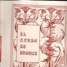 Libros de segunda mano: EL CARDO DE BRONCE, Nº XI. AÑO III. OTOÑO 1987. CUADERNOS DE POESÍA.. Lote 177761597