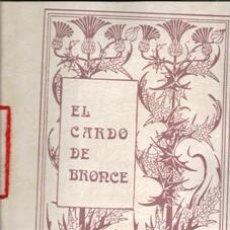 Libros de segunda mano: EL CARDO DE BRONCE, Nº IV. INVIERNO 85. CUADERNOS DE POESÍA.A VICENTE ALEIXANCRE. JUNIO 86. Lote 177761628