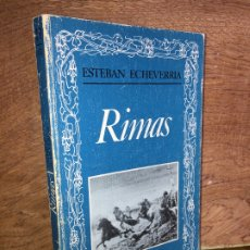 Libros de segunda mano: RIMAS - ESTEBAN ECHEVARRIA - EDITORA NACIONAL - GCH. Lote 177980883